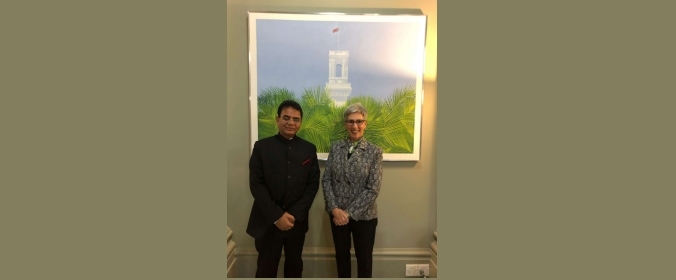 Consul General called on Hon. Linda Dessau AC-Governor of Victoria