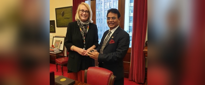 Consul General meeting with Ms. Sally Capp-Lord Mayor City of Melbourne